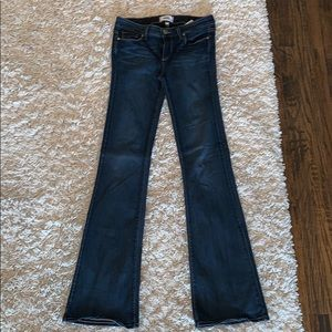 Women's Size 27 Blue Denim Boot Cut Jeans
